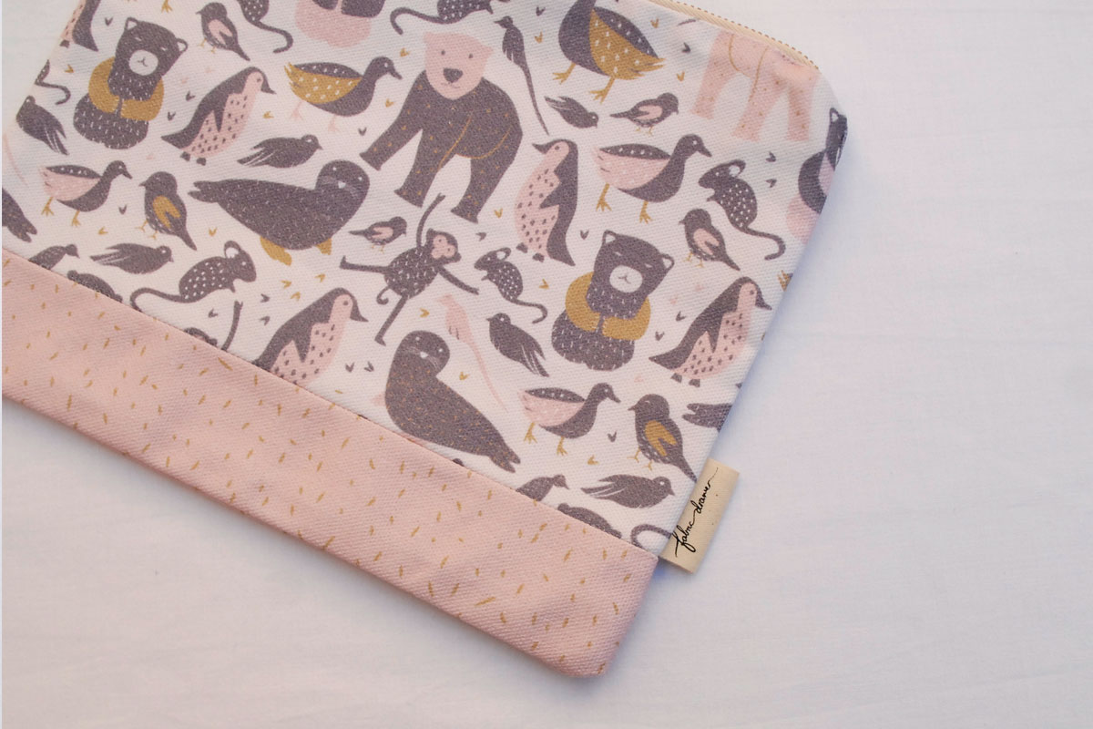 Zip Purse in Pretty Little Wild Things